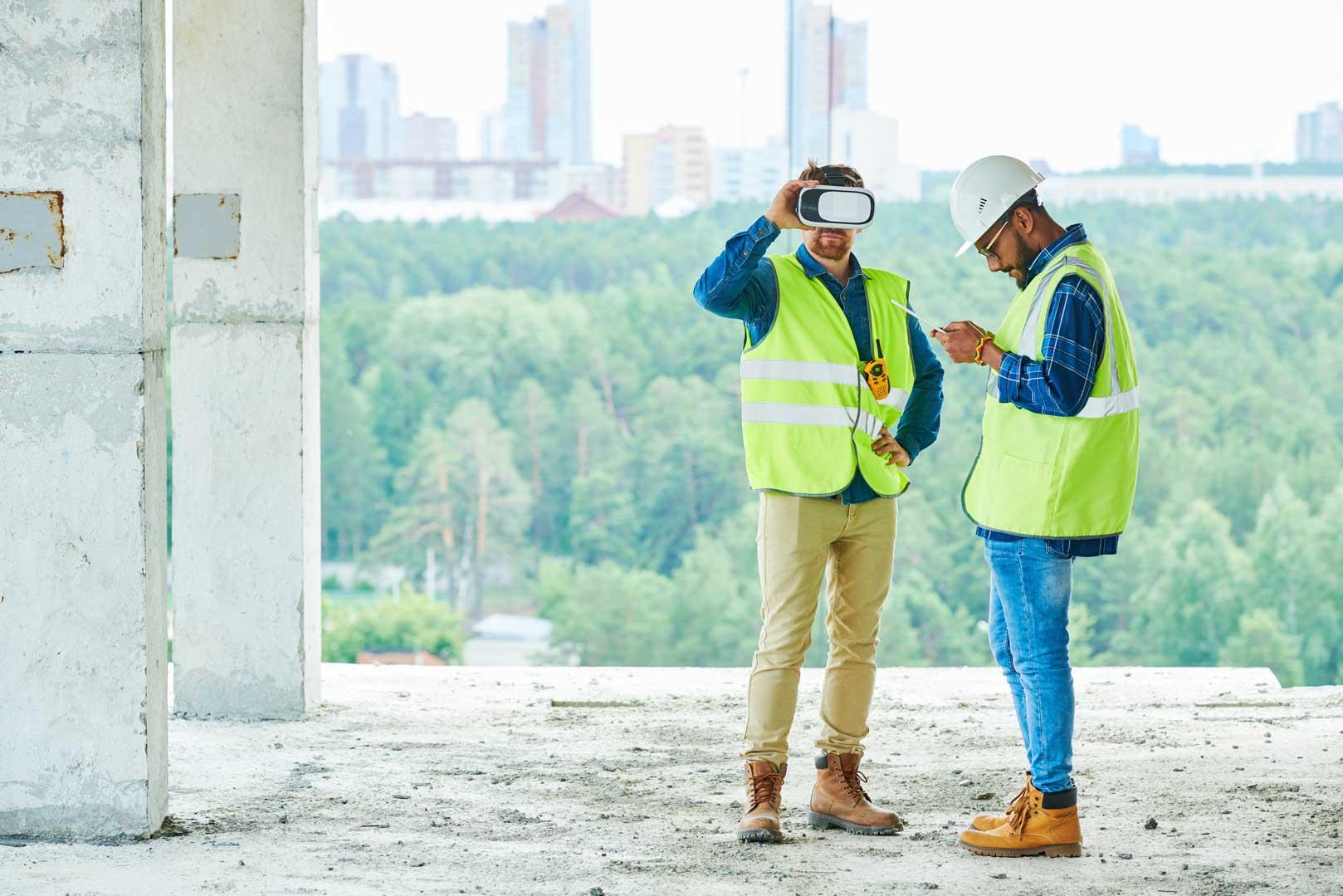 realidad virtual construccion